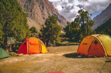 Tajikistan camping, Fann Mountains