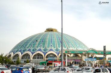 Chorsu bazaar of Tashkent