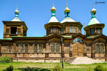 Karakol wooden Church