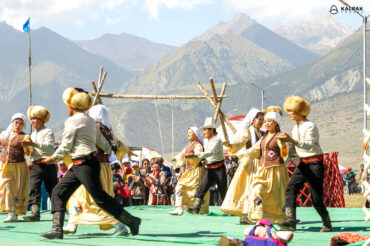 traditional dance in Kyrgyzstan