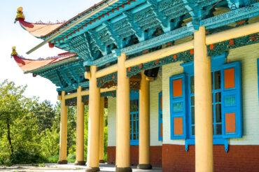 mosque in Karakol Kyrgyzstan