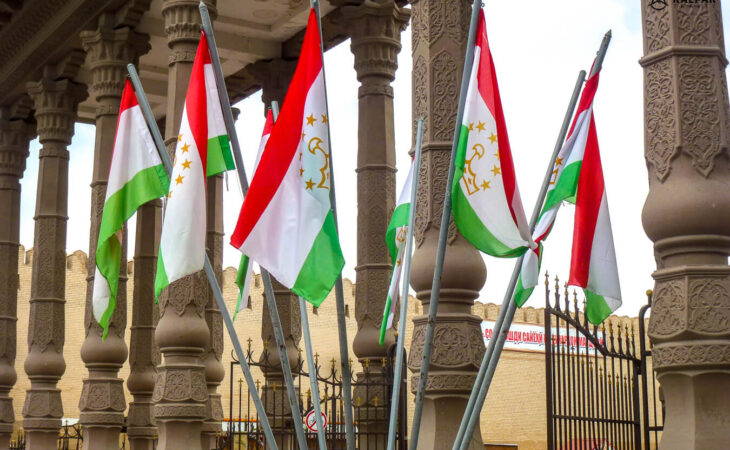 Flags of Tajikistan