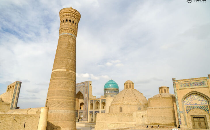 Kalon minaret in Bukhara