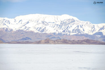 Karakul lake in Pamir