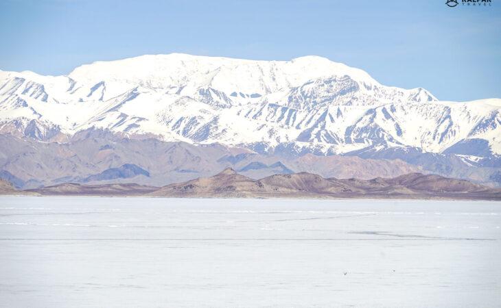 Karakul lake in Pamir