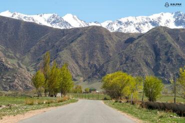 Roads in Kyrgyzstan