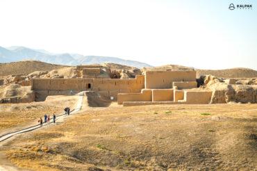 Old Nisa ruins Turkmenistan