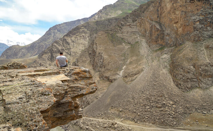 Pamir gorges