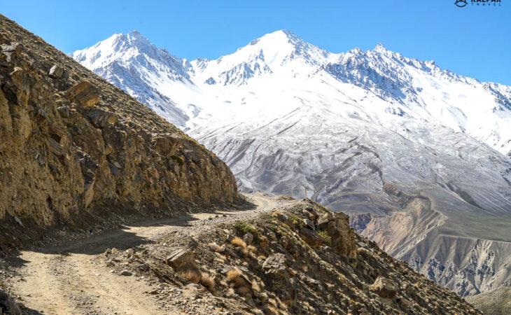 Pamir highway roads