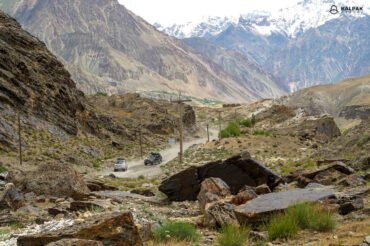 Pamir Highway in Tajikistan