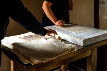 Samarkand paper making factory