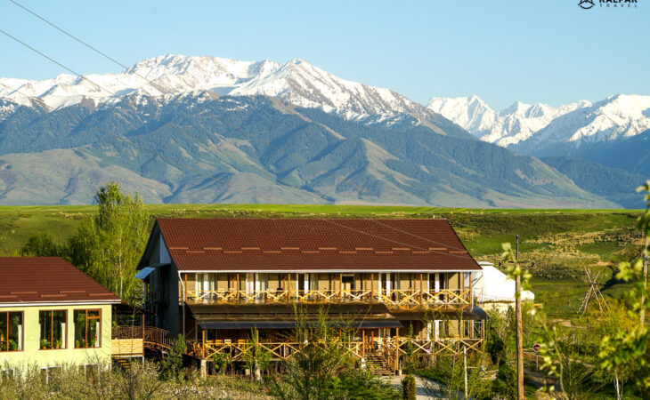 Reina Kench guesthouse in Kyrgyzstan