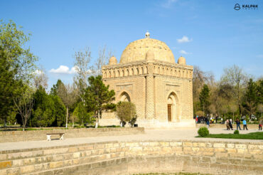 Samanid mausoleum in Bukhara