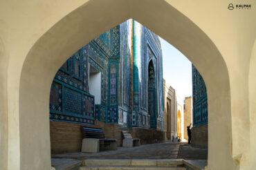 Shahizinda mausoleum in Samarkand