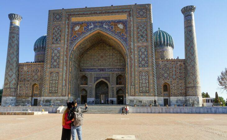 Sherdor Madrasa in Samarkand