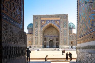 Sherdor building in Registan