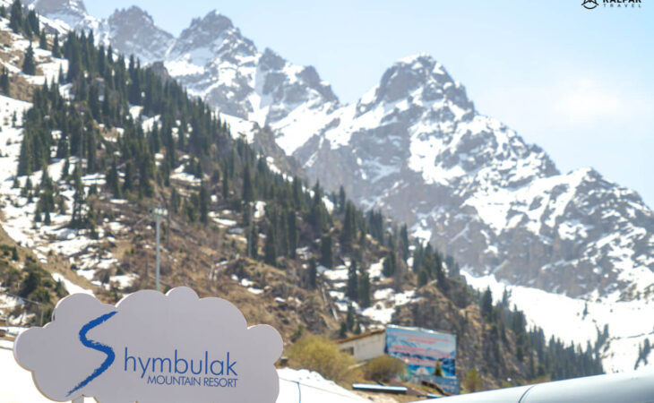 Shymbulak ski resort near Almaty