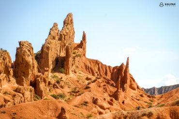 Skazka canyon formations