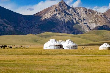 Song kol in Kyrgyzstan