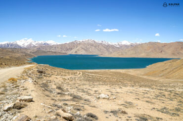 Bulunkul lake in Tajikistan