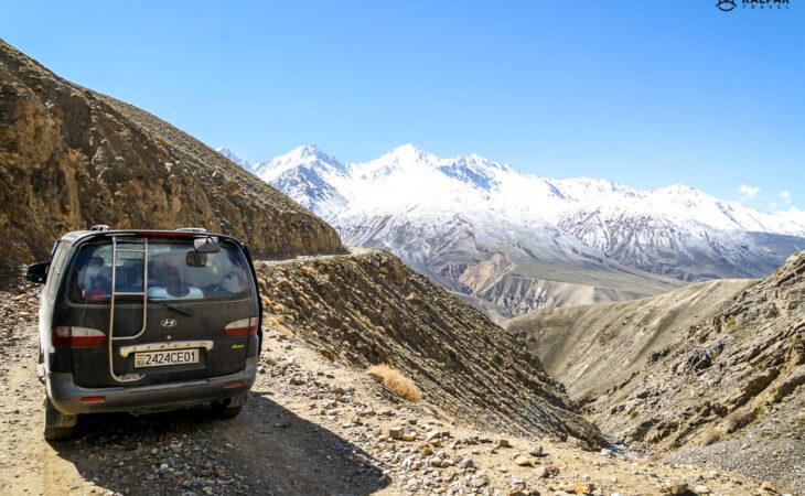 Tajikistan car used for Pamir Highway