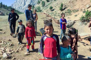 Tajikistan children