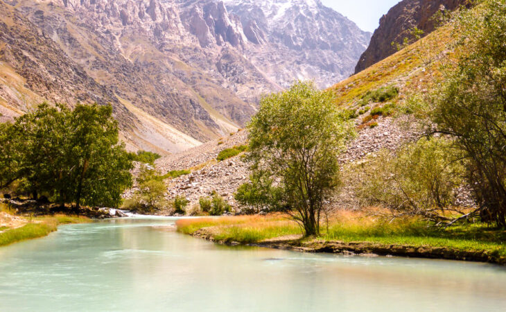 Tajikistan Jisev valley