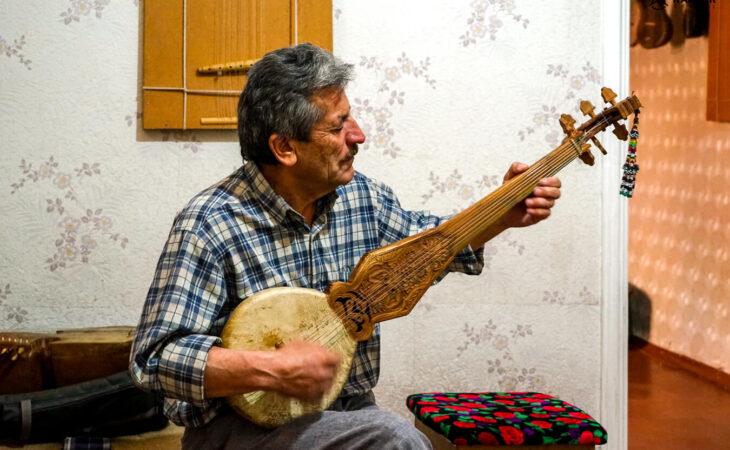 men playing music