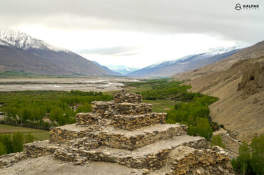 Stupa in the Tajik Mountains