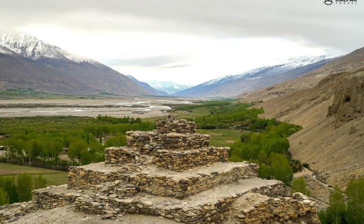 Stupa in the Tajik Mountains