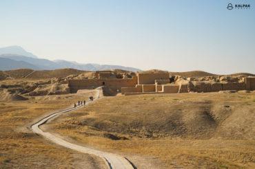 Nisa city in Turkmenistan