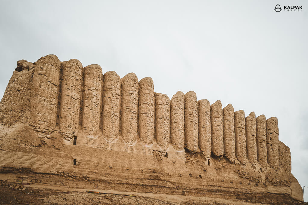 ruins of the ancient city in Turkmenistan