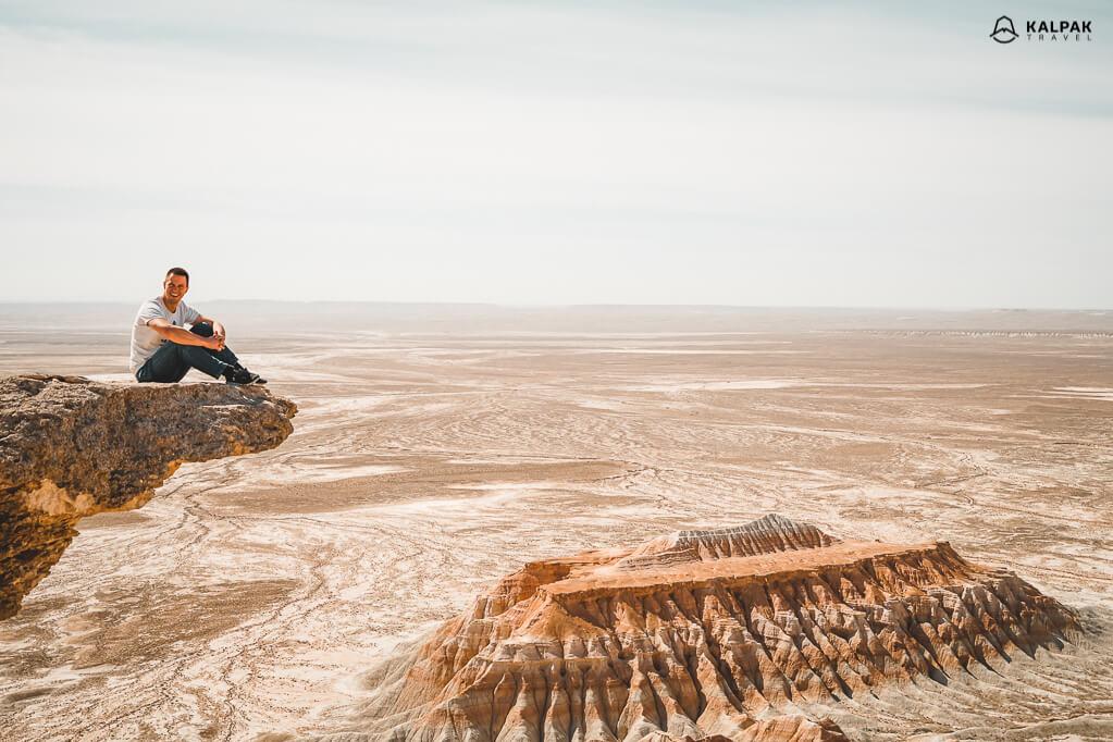 Yangykala canyons in Turkmenistan