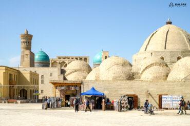 Silk road in Uzbekistan