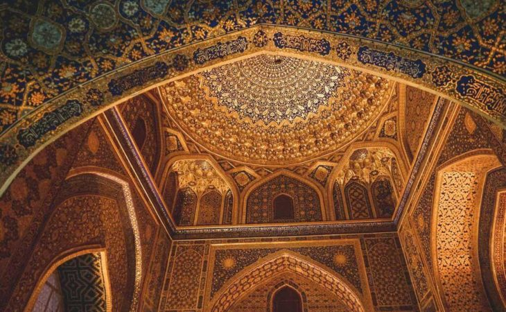 Uzbekistan tour involves many architectural travel highlights