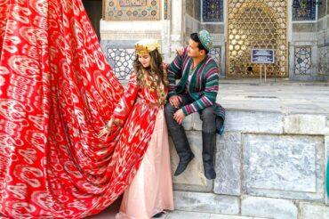 Uzbek wedding photo session