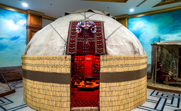 yurt in Turkmenistan