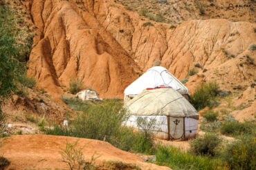 yurts in the canyon