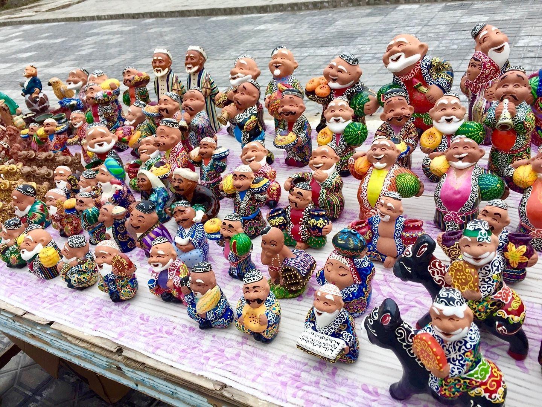 Uzbekistan tour, Souvenirs