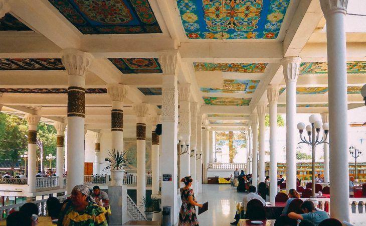 Dushanbe City Tour, Chaikhana Tajikistan