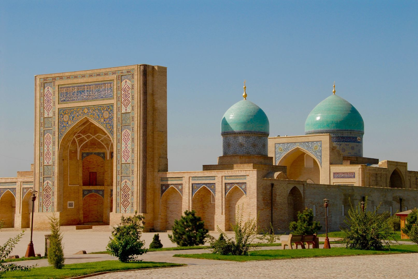 Old central asian city