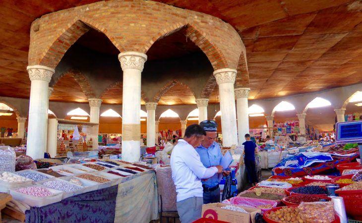 Tajikistan bazaar, Penjikent