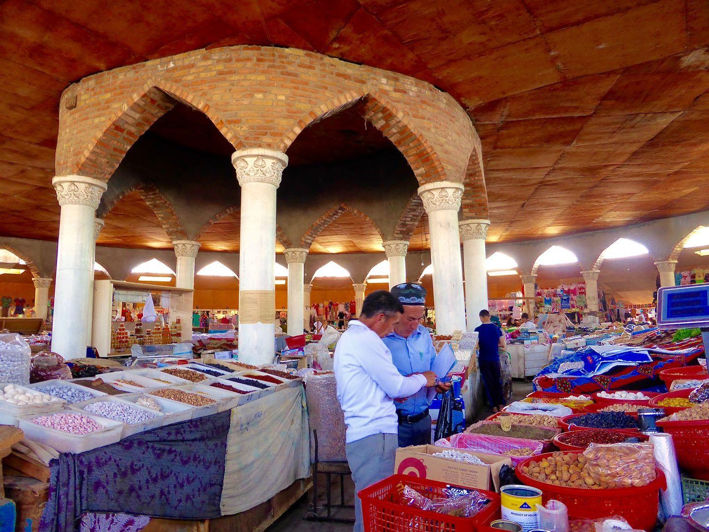 Tajikistan, trekking tour, Penjikent Bazaar
