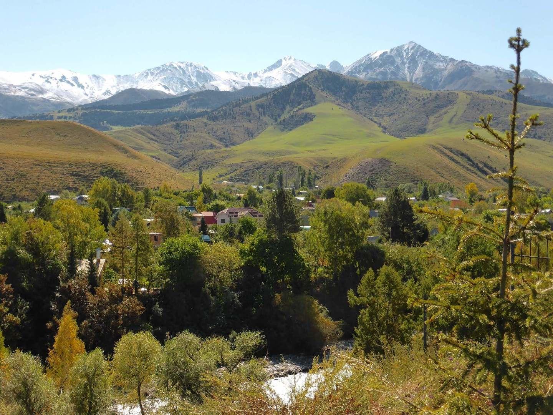 Ala Archa national park entrance in Bishkek, Kyrgyzstan, Central Asia Tour