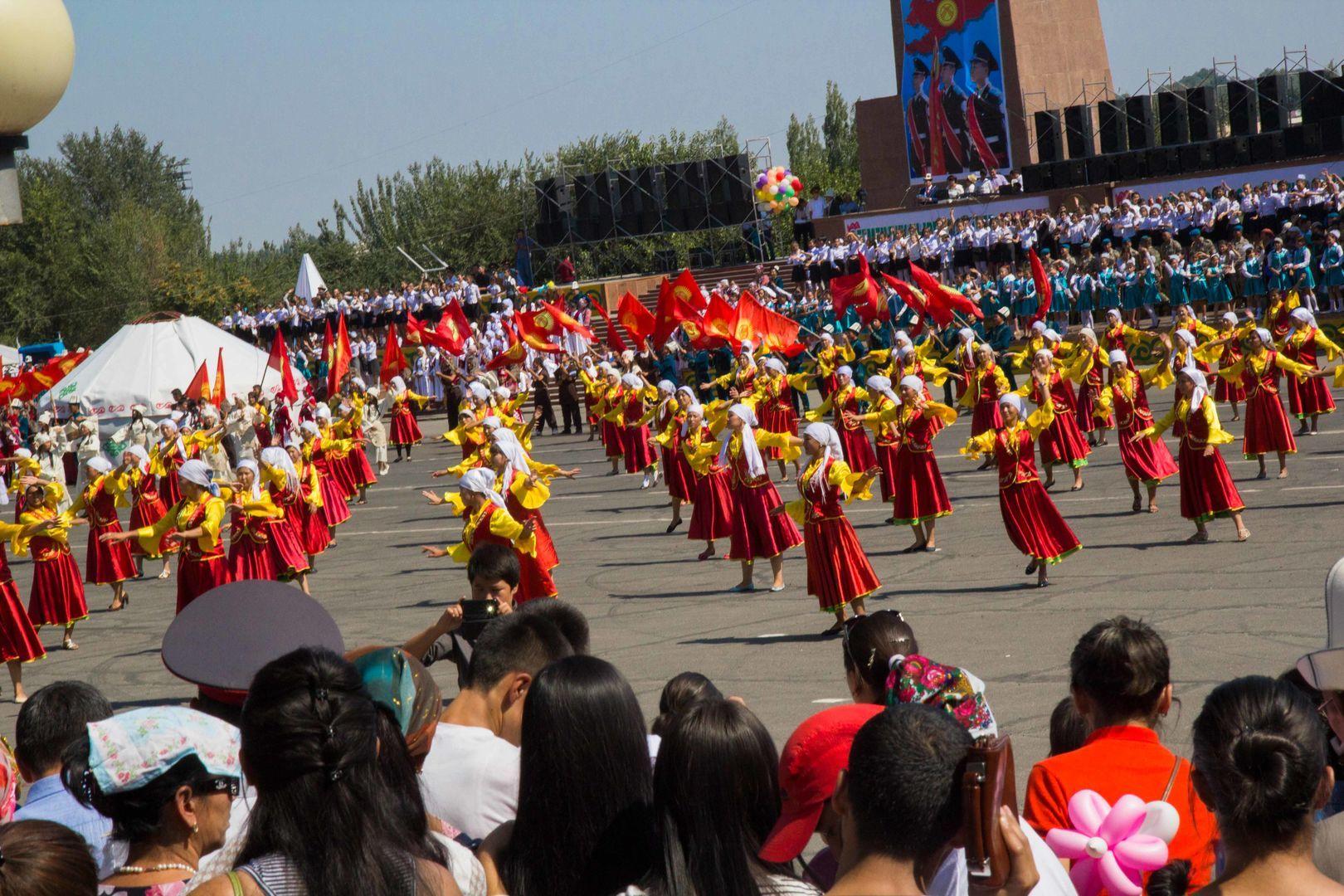 Bishkek independence day celebration