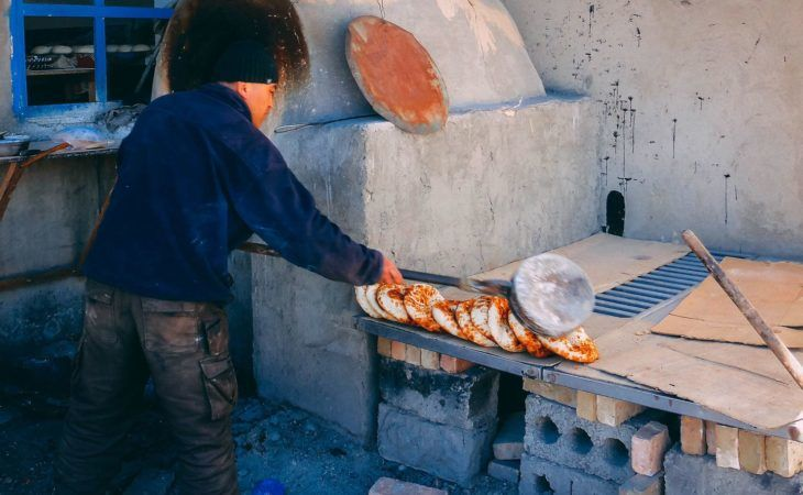 Tajikistan Cultural Tours, Murghab Bread making