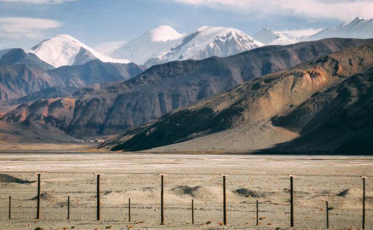China Tajikistan border