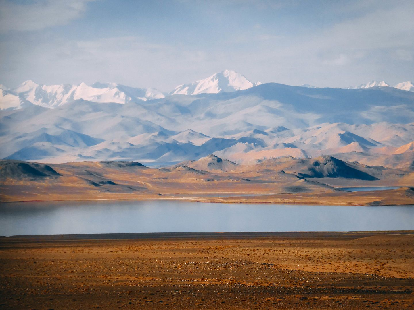 Karakul Lake, Tajikistan, Pamir Mountains