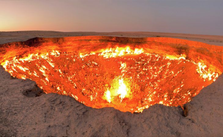darwaza-gate of hell in Turkmenistan, Best of Central Asia