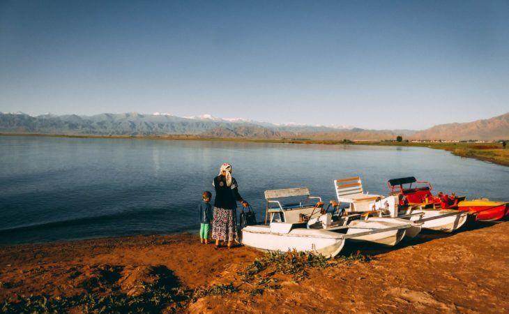 Lake Issyk Kul, Central Asia